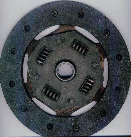debriyaj diski kamalı mil yuvası