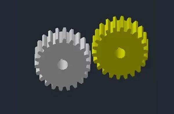 3D dişli Autocad .dwg dosyası İNDİR