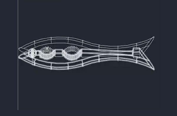 3D fındık kıracağı Autocad .dwg dosyası