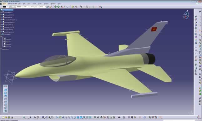 catia uçak tasarımı