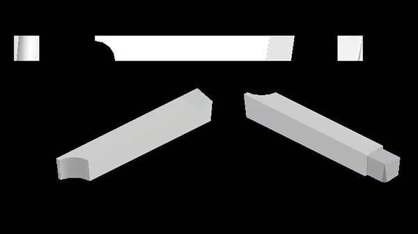 profil kalemi autocad katı model