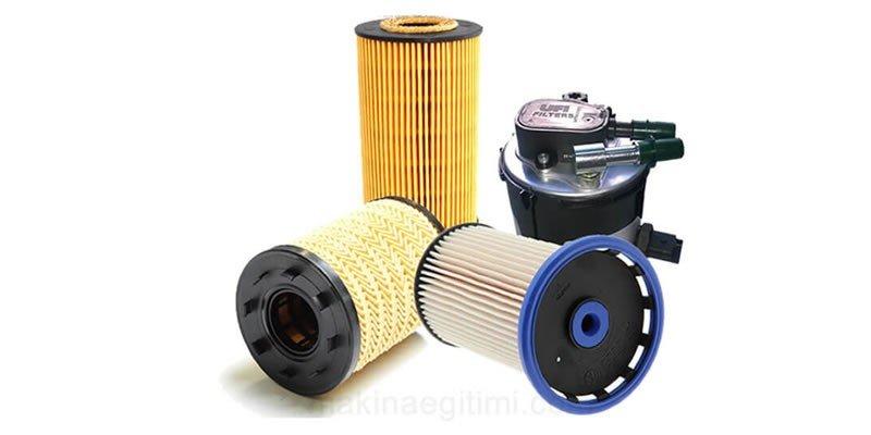 motorun kısımları yağ filtresi