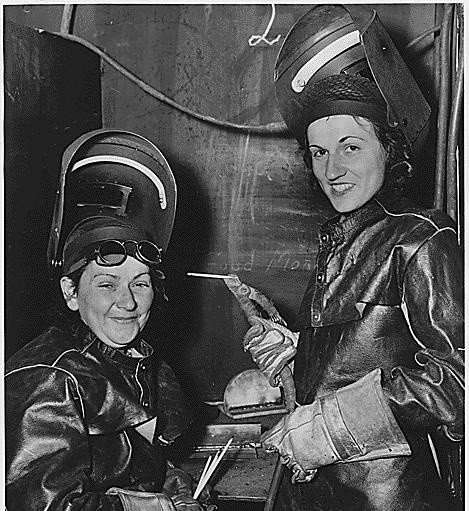 ilk kadın kaynakçılar