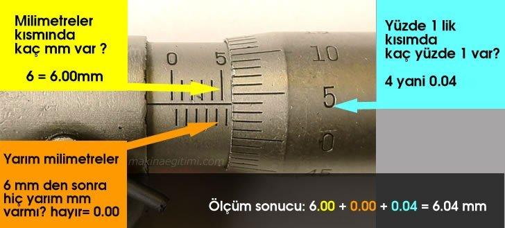 mikrometre ölçüm örneği cevap 11