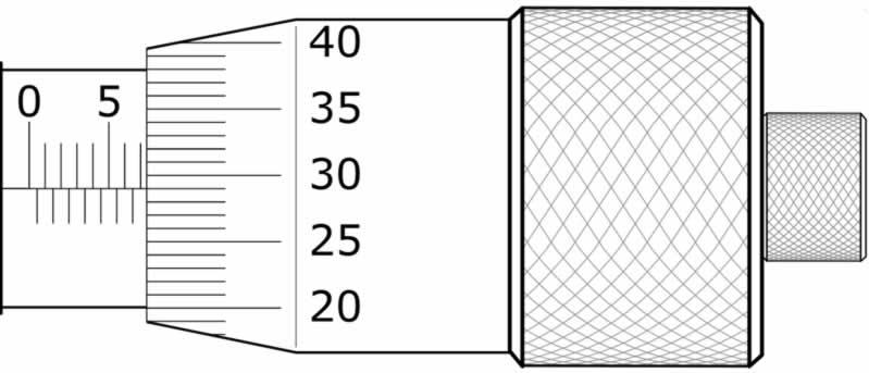 mikrometre soruları 7.29 mm