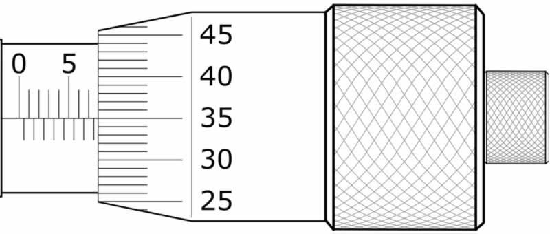 mikrometre soruları 7.85 mm