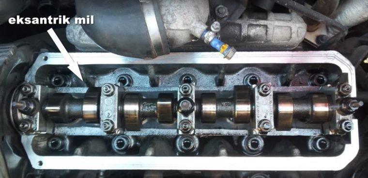 motor eksantrik mil motorun fazla yağ yakmasının sebebi
