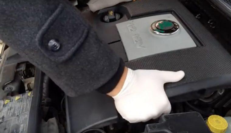 buji değiştirme motor kapağı