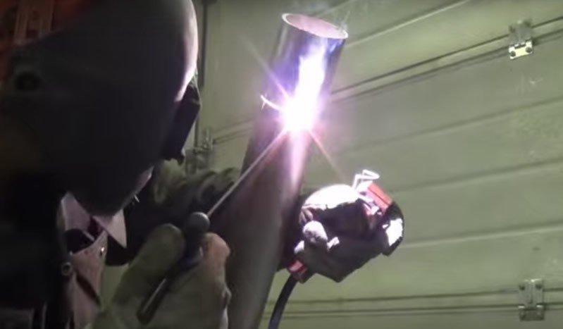 Paslanmaz çeliklerin kaynağında elektrodun tutuşturulması
