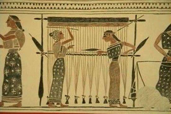 dokumacılık tarihi eski çağlar