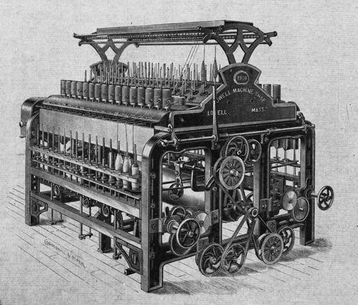 richard arkwright pamuktan iplik yapma makinesi