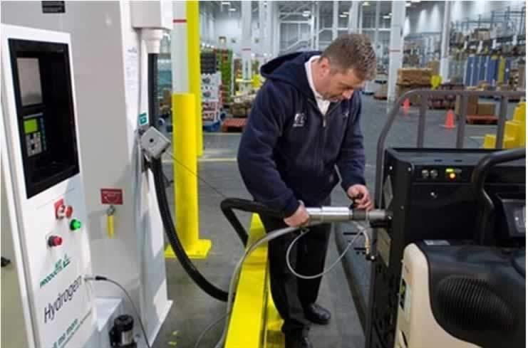 forklift güvenlik kuralları yakıt dolumu