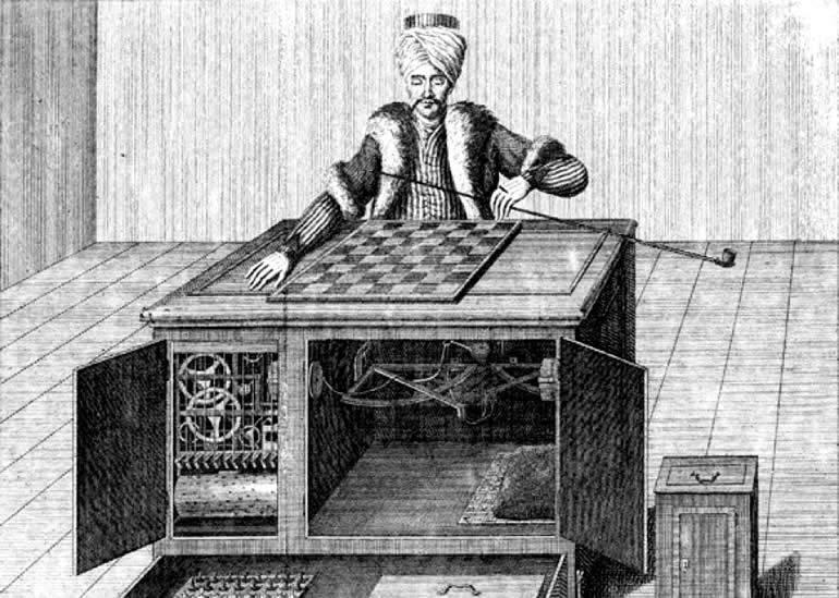 satranç oynayan türk robot
