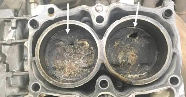 triger kayışının kopması piston hasarı