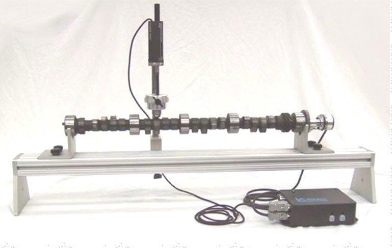 kam mili eksantrik mil elektronik ölçüm ve test cihazı