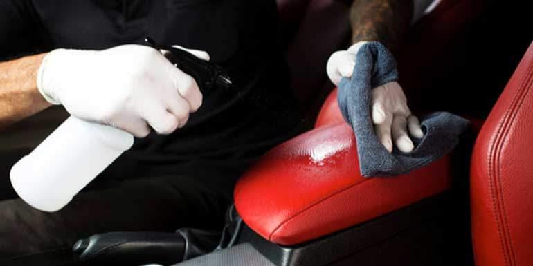 deri koltukların temizliği için ne kullanılır.