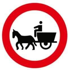 at arabası giremez levhası ve anlamı