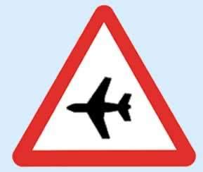 havaalanı tabelası