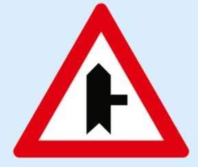 sağdan birleşen tali yol levhası ne demektir