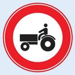 tarım traktörü giremez levhası ve anlamı
