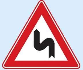trafik işaretleri devamlı viraj