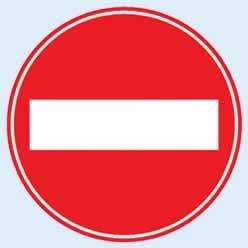 trafik tabelaları taşıt giremez