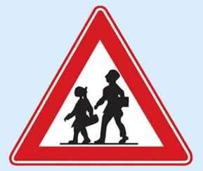 trafik uyarı levhaları okul geçidi