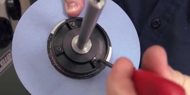 zımpara taşı dengeleme ağırlıklarının kullanımı