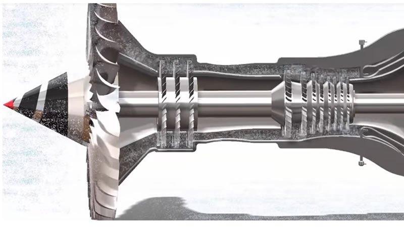 jet motorunun çalışma prensibi