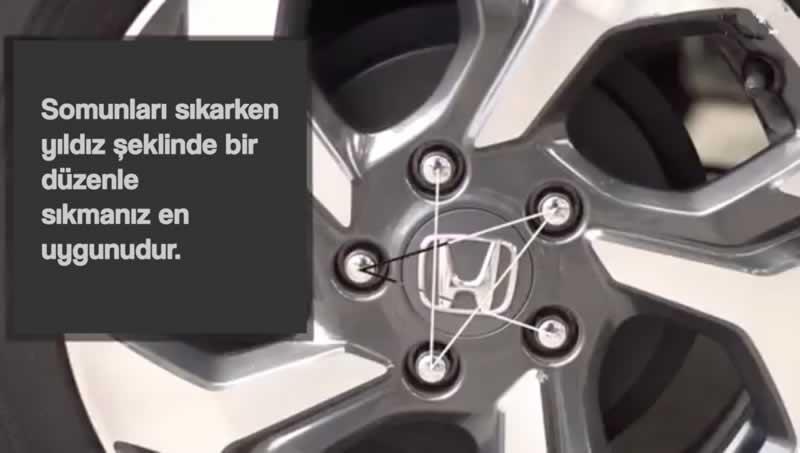araba lastik nasıl değiştirilir