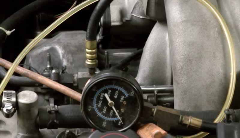 yakıt pompası basınç testi