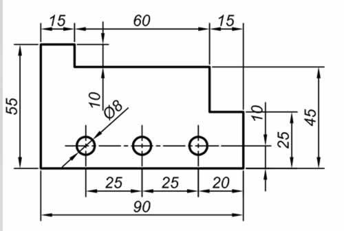 autocad LINE CIRCLE