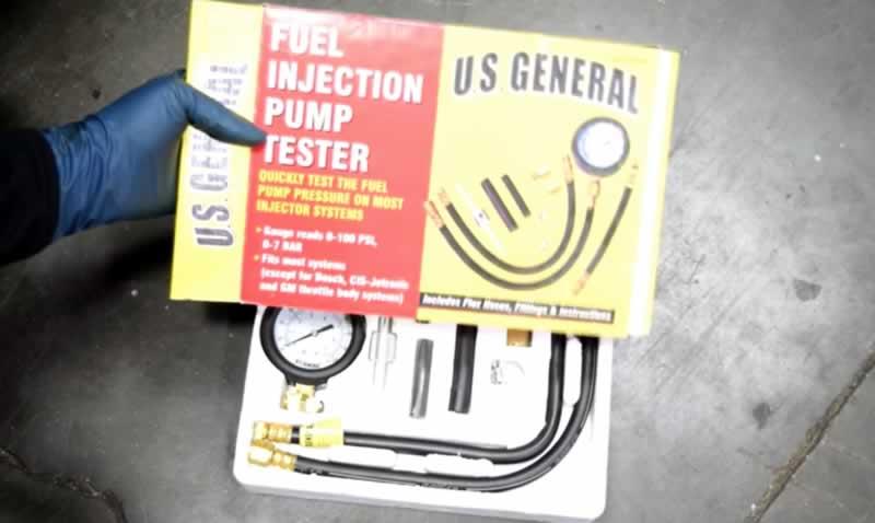 yakıt pompası basınç test kiti