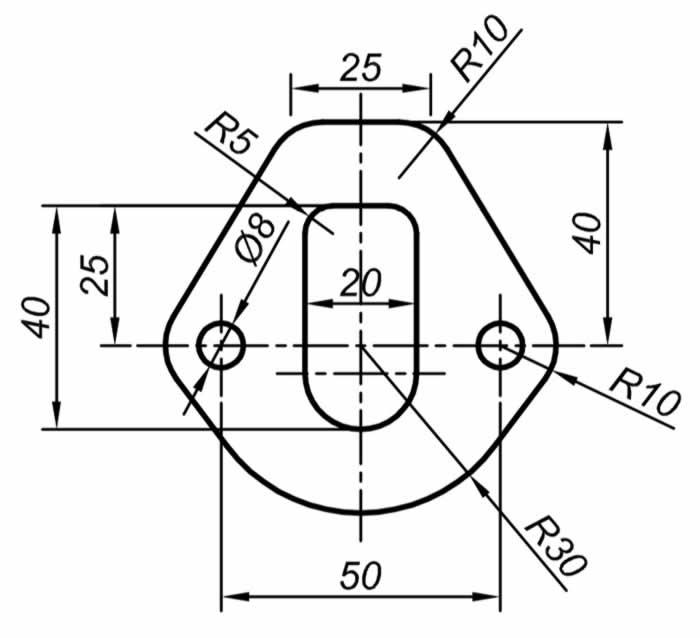 Autocad Solidworks çalışmaları için teknik resim örnekleri 9