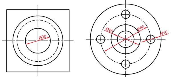 Teknik resim görünüş çıkarma örnekleri 2