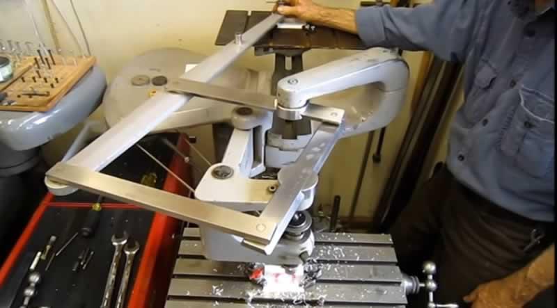 pantograf tezgahı nasıl çalışır