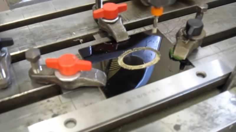 pantografta işleme ve mekanik tutucular
