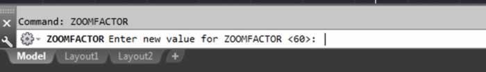 autocad performans artışı için zoomfactor