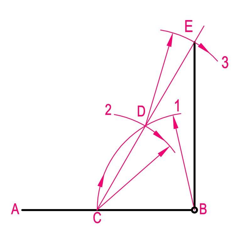 teknik reesim geometrik çizimler dikme çıkma