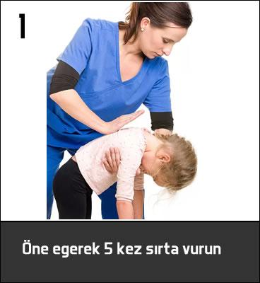 çocuklarda boğulma ilk yardım