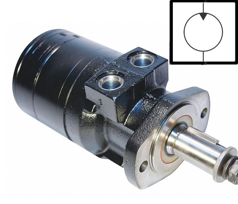 hidrolik motor ve simgesi