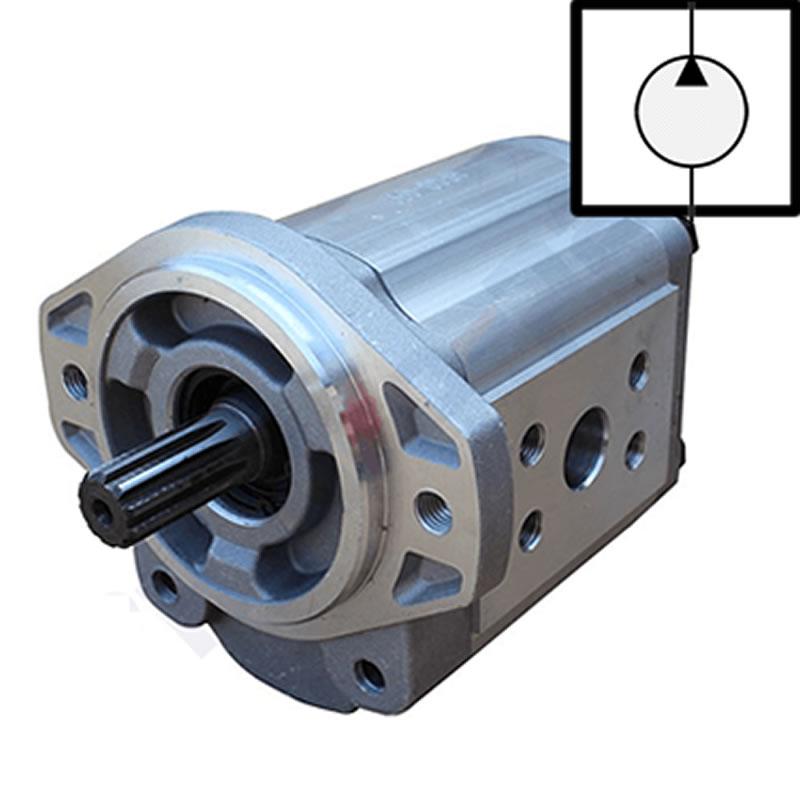 Hidrolik sistemin kısımları hidrolik pompa ve simgesi