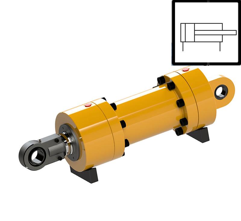 hidrolik sistemin elemanları hidrolik silindir ve sembolü