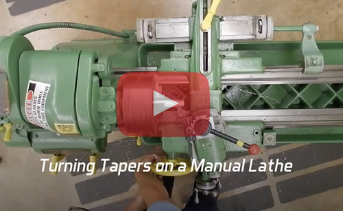 turning tapers on manual lathe